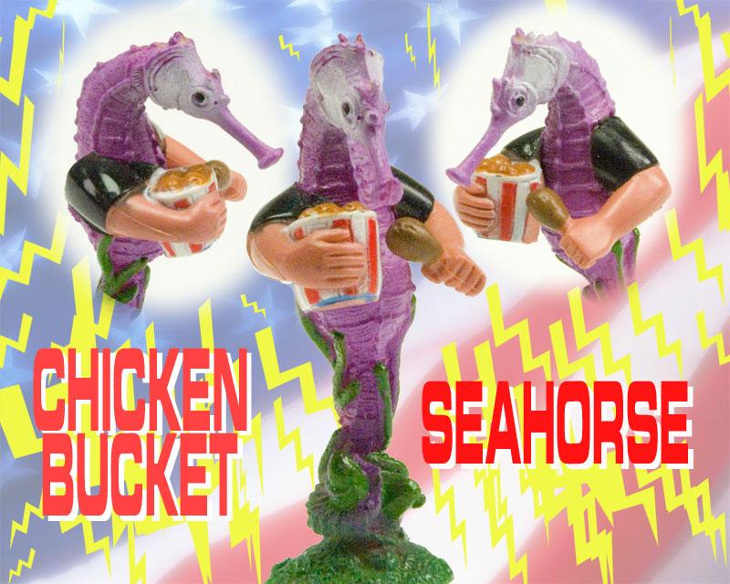 chicken bucket seahorse usa