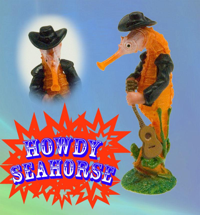 Howdy cowboy seahorse