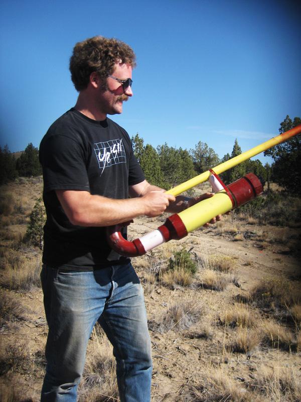 hot dog gun dickbird